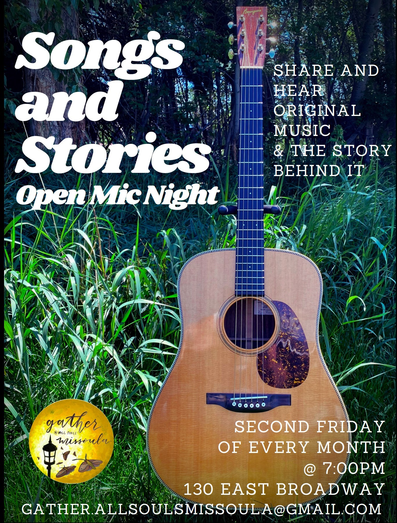 Songs and Stories - Open Mic Night